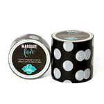 Heidi Swapp - Marquee Love Collection - Washi Tape - Black Polka Dot - 2 Inches Wide