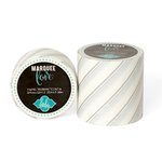 Heidi Swapp - Marquee Love Collection - Washi Tape - Silver Foil Pinstripe - 2 Inches Wide
