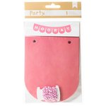 American Crafts - DIY Party - Banner Kit - Pink