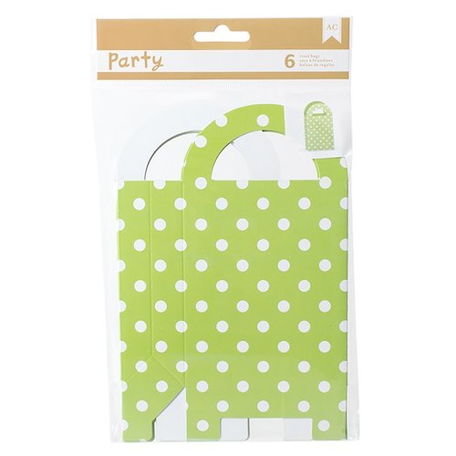 American Crafts - DIY Party - Gift Bag Treat Boxes - Green