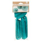 American Crafts - DIY Party - Party Pom Poms - Blue