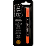 American Crafts - Wet-Erasable Chalk Marker Crayon - Orange