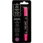 American Crafts - Wet-Erasable Chalk Marker Crayon - Pink