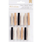 American Crafts - Whittles - Decorated Clothespins - Naturals