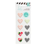 Heidi Swapp - Hello Beautiful Collection - Memory Planner - Puffy Stickers - Hearts