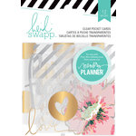 Heidi Swapp - Hello Beautiful Collection - Memory Planner - Pocket Cards - Clear