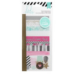 Heidi Swapp - Hello Beautiful Collection - Memory Planner - Washi Shapes Booklet