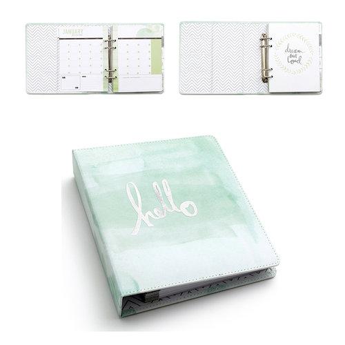 Heidi Swapp - Hello Beautiful Collection - Memory Planner - Hello Watercolor Binder
