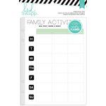 Heidi Swapp - Hello Beautiful Collection - Memory Planner - Binder Refill Pack - Activities