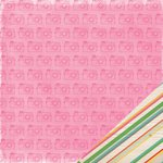 American Crafts - Amy Tangerine Collection - Rise and Shine - 12 x 12 Double Sided Paper - Claire