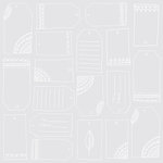 American Crafts - Rise and Shine Collection - 12 x 12 Transparent Paper - Isabella