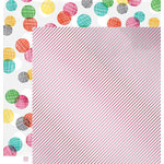 American Crafts - Rise and Shine Collection - 12 x 12 Pink Foil Paper - Zoey