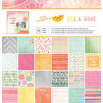 American Crafts - Amy Tangerine Collection - Rise and Shine - 12 x 12 Paper Pad