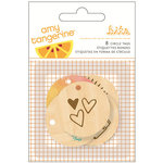 American Crafts - Rise and Shine Collection - Wood Veneer Tags