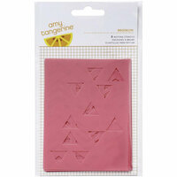 American Crafts - Rise and Shine Collection - Misting Stencils - Brooklyn