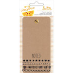 American Crafts - Rise and Shine Collection - Memo Pad - Ticket