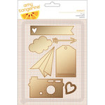 American Crafts - Amy Tangerine Collection - Rise and Shine - Die Set - Scarlett