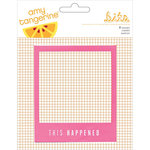 American Crafts - Amy Tangerine Collection - Rise and Shine - Frames