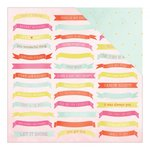 American Crafts - Dear Lizzy Collection - Fine and Dandy - 12 x 12 Double Sided Paper - Celebrate