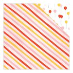 American Crafts - Dear Lizzy Collection - Fine and Dandy - 12 x 12 Double Sided Paper - Oh Joy