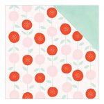 American Crafts - Dear Lizzy Collection - Fine and Dandy - 12 x 12 Double Sided Paper - Sweetest Soiree