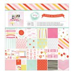 American Crafts - Fine and Dandy Collection - 12 x 12 Paper Pad