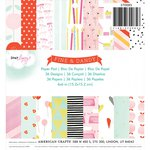 American Crafts - Dear Lizzy Collection - Fine and Dandy - 6 x 6 Paper Pad