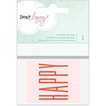 American Crafts - Fine and Dandy Collection - Masking Tape Tags