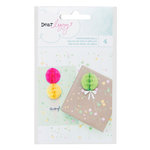 American Crafts - Dear Lizzy Collection - Fine and Dandy - Honeycomb Balls