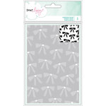 American Crafts - Fine and Dandy Collection - Embossing Folder - Bows