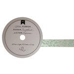 American Crafts - Glitter Ribbon - Green Vine - 0.625 Inch - 3 Yards
