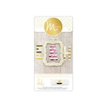 Heidi Swapp - MINC Collection - Jumbo Alphabets - Stripe