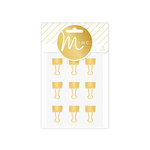 Heidi Swapp - MINC Collection - Gold Binder Clips