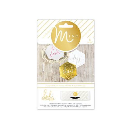 Heidi Swapp - MINC Collection - Party - Coasters
