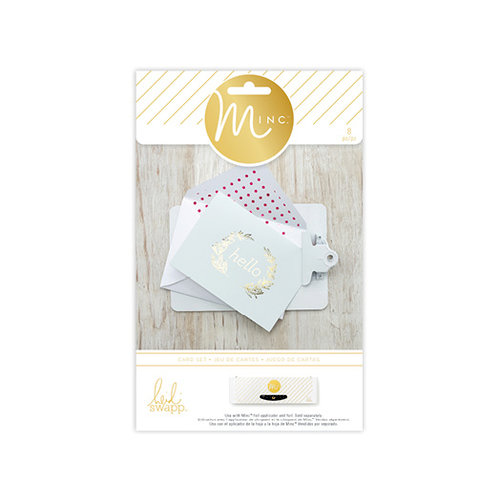 Heidi Swapp - MINC Collection - Cards and Tags - Card Set - Hello