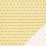Heidi Swapp - Wanderlust Collection - 12 x 12 Double Sided Paper - Basket Weave