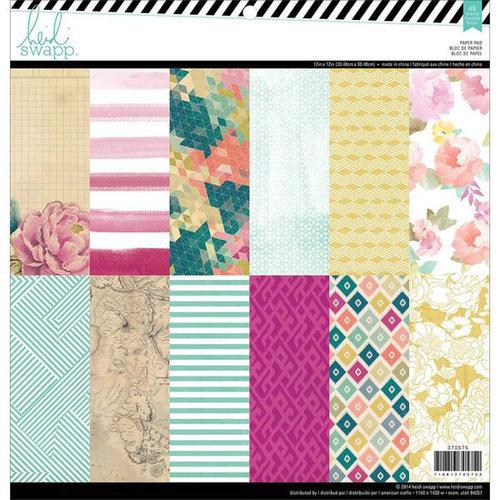 Heidi Swapp - Wanderlust Collection - 12 x 12 Paper Pad