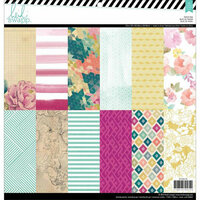 Heidi Swapp - Wanderlust Collection - 12 x 12 Paper Pad