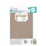 We R Memory Keepers - Heidi Swapp - Mixed Media Collection - The Cinch Kits - Chipboard Ticket Album