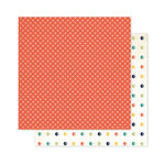 Pink Paislee - Atlas Collection - 12 x 12 Double Sided Paper - Wheels Up