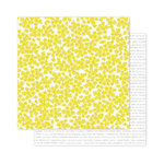 Pink Paislee - Citrus Bliss Collection - 12 x 12 Double Sided Paper - Seeds