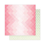Pink Paislee - Citrus Bliss Collection - 12 x 12 Double Sided Paper - Citrus
