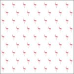 Pink Paislee - Citrus Bliss Collection - 12 x 12 Acetate Paper - Flamingo