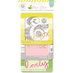 Pink Paislee - Citrus Bliss Collection - Insta Kit - 4 x 4