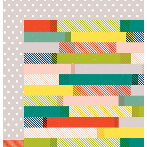 American Crafts - Shimelle Collection - True Stories - 12 x 12 Double Sided Paper - English Breakfast