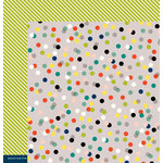 American Crafts - Shimelle Collection - True Stories - 12 x 12 Double Sided Paper - Cappuccino