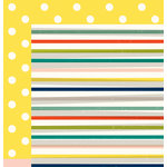American Crafts - True Stories Collection - 12 x 12 Double Sided Paper - Americano