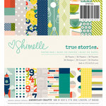 American Crafts - True Stories Collection - 6 x 6 Paper Pad