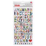 American Crafts - True Stories Collection - Thickers - Chipboard - Hipster - Multicolor