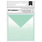 American Crafts - Mini Cards and Envelopes - 3 x 3 - Mint